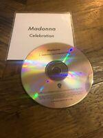 Madonna - Celebration Cd Promo Single Paul Oakenfold Dub Madame X Warner