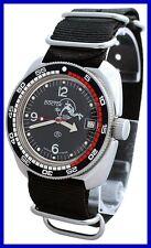 AMPHIBIA 200m VOSTOK AUTOMATIC MECHANICAL WATCH! NEW! 2416/710634 Es
