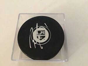 Jordan Nolan Signed Los Angeles LA Kings Hockey Puck Autographed a