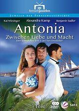 Antonia: Zwischen Liebe und Macht - Der SAT.1 Dreiteiler, 3 DVD NEU + OVP!