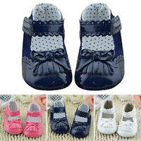 Baby Tassel Soft Sole Leather Shoes Infant Boy Girl Toddler Moccasin 0-18 Months