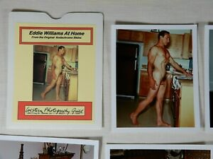 Western Photography Guild, Don Whitman, Nice Set of Poses by Eddie Williams, 4x5