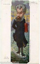 Illustrateur MOLOCH . Camille PELLETAN. Politique Française . French politics