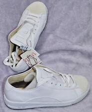 VISVIM Judd-Stingray Shoes White Leather Sneakers Size US 9.5. New NO BOX