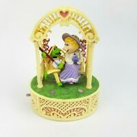 Kermit The Frog & Miss Piggy Music Box Swing By Enesco 1983