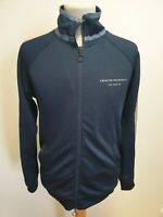 H97 MENS CREATIVE RECREATION BLUE LONG SLEEVE FULL ZIP TRACKSUIT TOP UK S EU 48