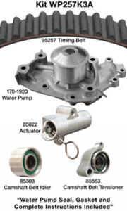 Engine Timing Belt Kit with Water Pump-Water Pump Kit W/o Seals Dayco WP257K3A