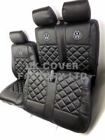 VW TRANSPORTER T5 5 - 6 SEATER  KOMBI  VAN SEAT COVER WITHOUT VW LOGO  -A150A
