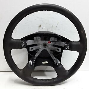 02 03 04 05 Mercury Mountaineer Ford Explorer black leather steering wheel OEM