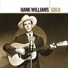 HANK WILLIAMS        -           GOLD           -     NEW 2CD