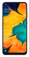 Telstra Samsung Galaxy A30 4GX - Black Blue Tick Rural Regional