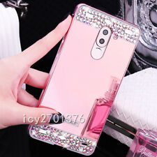 NEW Bling Ring Holder Kickstand Aluminum Metal Mirror Case PC Back Cover Skin #6