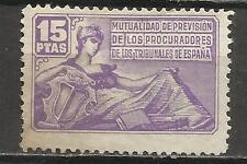 7366-ANTIGUO SELLO CORPORATIVO FISCAL MUTUALIDAD PROCURADORES TRIBUNALES ESPAÑA