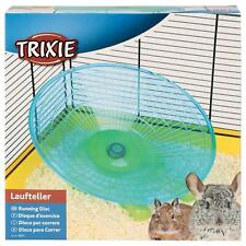 Trixie Corsa Disco Flying Piattino Esercizio Ruota Degu Cincillà Ratti 30cm