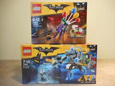 Lot Lego The Batman Movie - 70900 Joker 70901 Mr. Freeze - Boîtes NEUVES