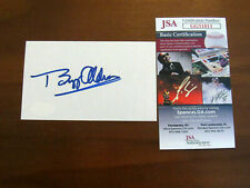 BUZZ ALDRIN APOLLO 11 NASA ASTRONAUT SIGNED AUTO VINTAGE INDEX JSA AUTHENTIC