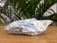Raw Blue Kyanite Mineral Specimen Rough Blue Kyanite Crystal Matrix Gemstone.
