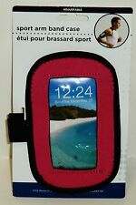 Sport Arm Band Case Adjustable Fits iPhone 5 & 6 Samsung Galaxy S5 & S4 PINK