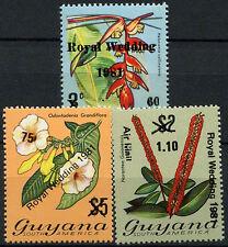 Guyana 1981 SG#841-3 Royal Wedding MNH Set #R146