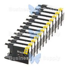 12 BLACK LC71 LC75 Compatible Ink Cartirdge for BROTHER Printer MFC-J435W LC75BK