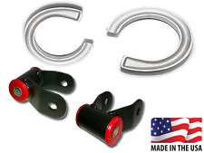 "1997-2003 Ford F150 2""-1.5"" Raise Leveling Lift Shackles Coil Spacers Urethane"