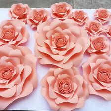 Paper Flower Window Ornaments Wedding Background Decoration Crafts DIY
