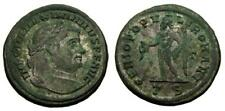 Maximianus First reign A.D. 286-305 Æ Follis Thessalonica mint 3rd officina 5696