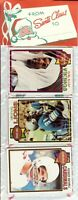 1979 Topps Football Holiday Christmas Rack Pack HOF Newsome Shell Campbell RC?A9
