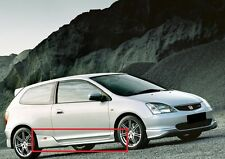 HONDA CIVIC TYPE R LOOK 2001-2005 SIDE SKIRTS NEW !!
