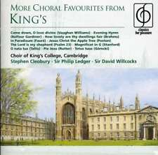 Choir Of King's College, Cambr - More Choral Favourites From Ki NEW CD