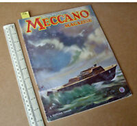 1941 Home Front Meccano Magazine. Boys Hobby & Craft Projects + Engineering News