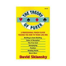 The Theory of Poker by David Sklansky (author)