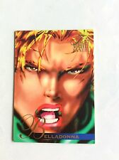 BELLADONNA MARVEL ANNUAL FLAIR '95 TRADING CARD nr 43