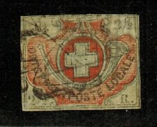 Switzerland #1L5 1850 Used