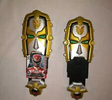 Two Power Rangers Megaforce Gosei Mask Toy Talking Works Bandai Morpher