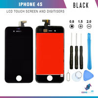 New Replacement LCD Screen And Digitizer Display Assembly For iPhone 4S in Black