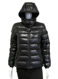 Moncler Bady Giubbotto Women's Black Slim Short Puffer Jacket Coat Size XS $1200
