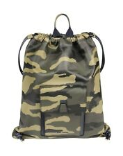 Dior Homme Spring Summer 2016 Runway Collection Camo Leather Drawstring Backpack