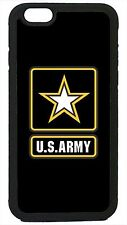 US Army Black USA Military Case Cover for iPhone 4 4s 5 5s 5c 6 6 Plus