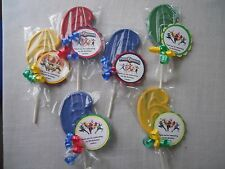 12 Disney Power Rangers 6th Birthday Gourmet Chocolate Lollipops Party Favors