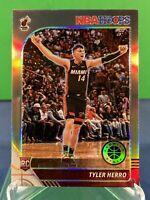 2019-20 NBA Hoops Premium Stock Tyler Herro Silver Holo Refractor Prizm RC HEAT