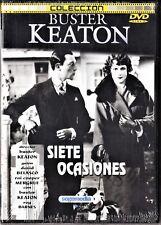 Buster Keaton: SIETE OCASIONES, LA BARCA y NIDO DE AMOR.