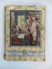 MONTGOMERY WARD & CO. Spring and Summer Catalog 1929
