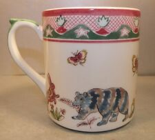 NEW Mug,  Jardin Imaginaire Pattern  GIEN
