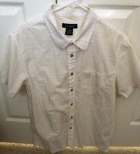 Men Calvin Klein Short Sleeve Button Down Shirt Size L