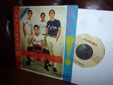 """Los Brincos, Borracho, Sola, Spanish beat, Novola NOX-13, Single, 7"""" 1965"""