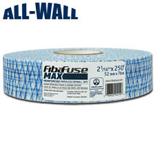 Fibafuse Max Reinforced Fiber Porous Drywall Tape Extra Crack Resistance