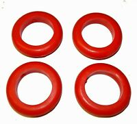 Set of 4 Red Rings For Standard Full Size Bumper Pool Bumpers