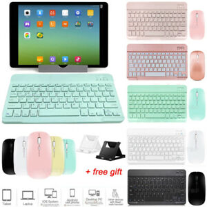 "For iPad Pro 11 12.9 Air 3 4th 7/8th Gen 10.2 9.7"" Bluetooth Keyboard With Mouse"