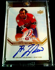 2008-09 UPPER DECK MONTREAL CANADIENS CENTENNIAL Guy Lafleur HABS INK  GL
